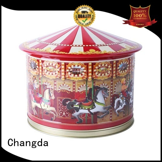Changda oem&odm gift tin boxes factory supply for restuarant