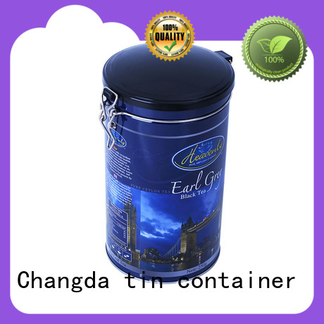 Changda popular coffee tin box light weight for gift