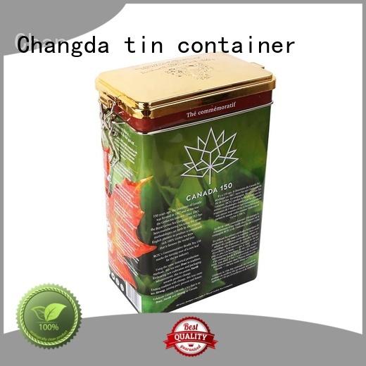 Changda oem&odm tin box durable food grade