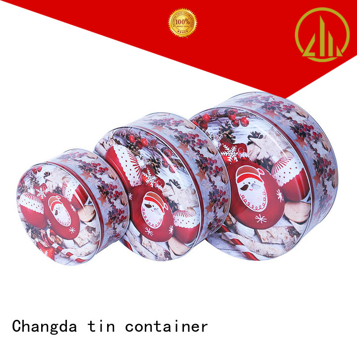 Changda tin box set fast delivery factory supply