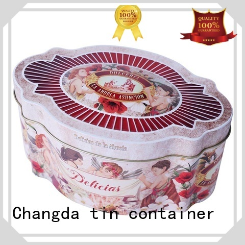 Changda cookie can factory price free sample