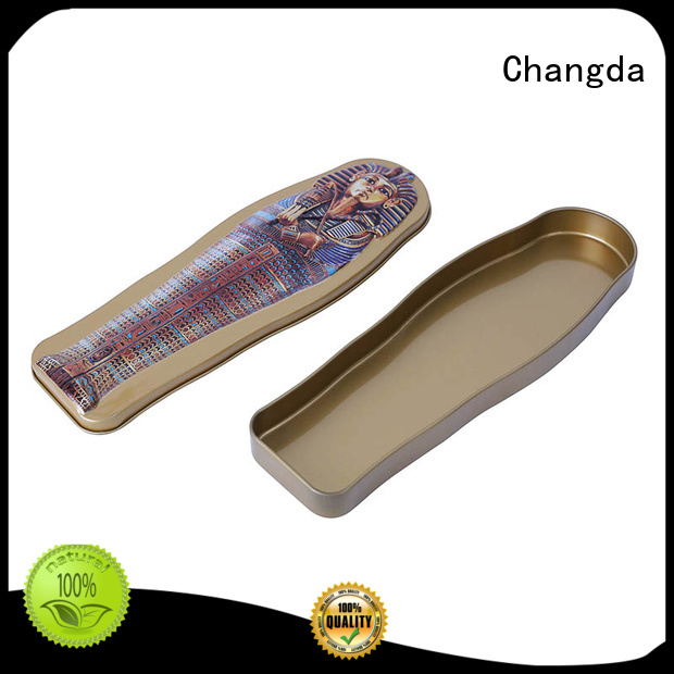 Changda oem&odm promotional tin box light weight fast delivery