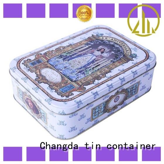 Changda gift tin boxes wholesale for bar