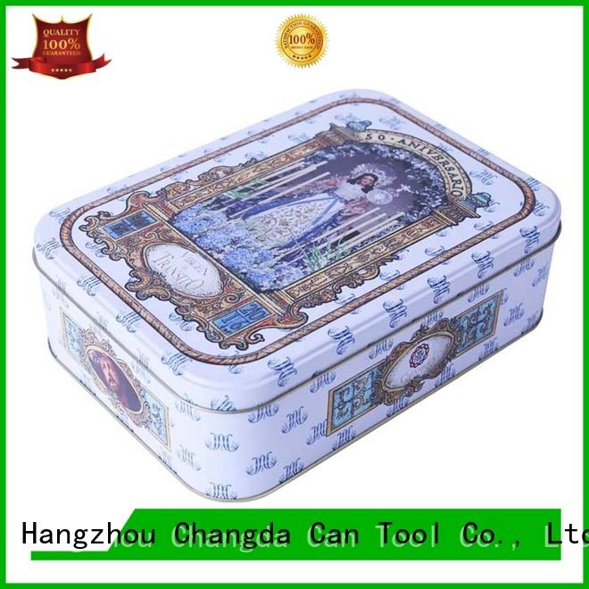 Changda food grade decorative gift boxes for restuarant