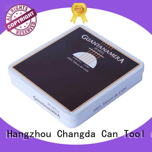 Changda wholesale cigarette box best quality