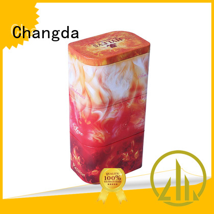 Changda coffee tin box for gift
