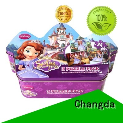 Changda puzzle tin high quality oem&odm