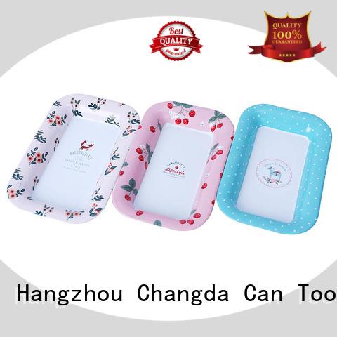 Changda oem&odm vintage metal trays for wholesale