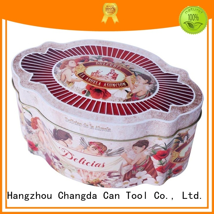 Changda cookie can factory price fast delivery