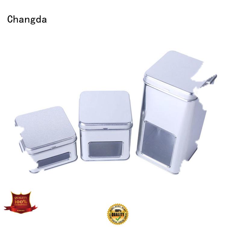 Changda tin box set for gift