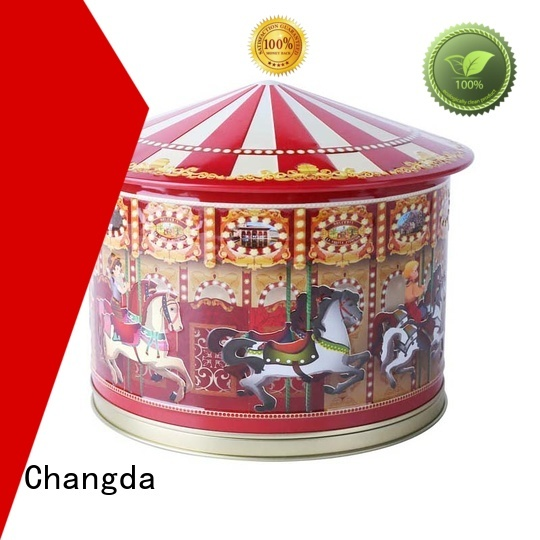 Changda gift tin boxes high quality for restuarant