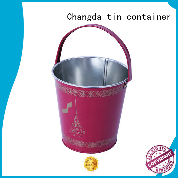 latest metal buckets wholesale free sample for packing