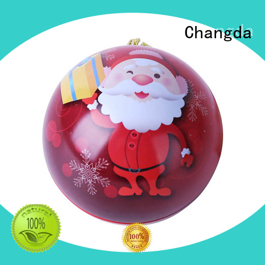 red christmas balls trendy for customization Changda