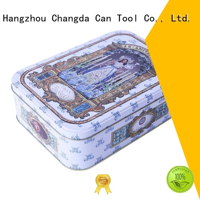 Changda oem&odm tin boxes factory supply for wholesale