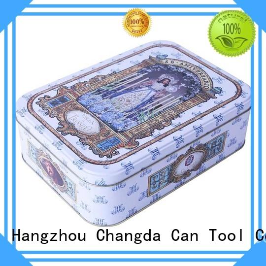 Changda oem&odm tin boxes wholesale for restuarant