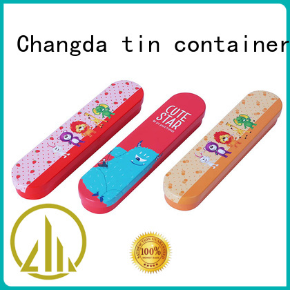 popular stationery tin box odm&odm factory supply