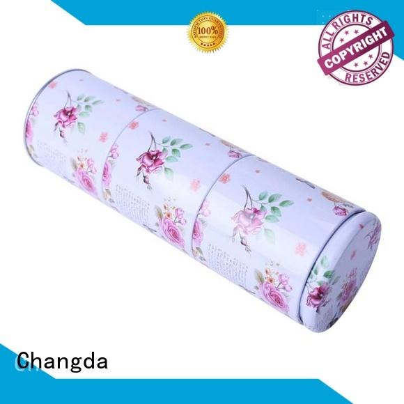 Changda tea tin can stainless food grade