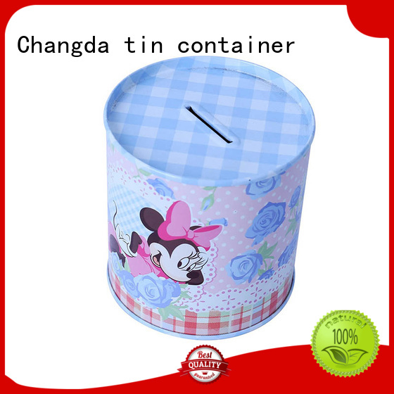 tin boxes wholesale for bar Changda