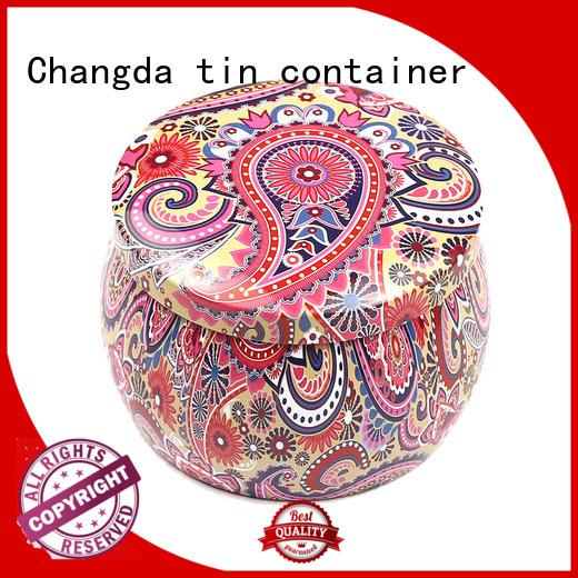 Changda high quality candy can bulk supply