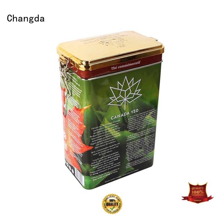 Changda tea tins wholesale durable