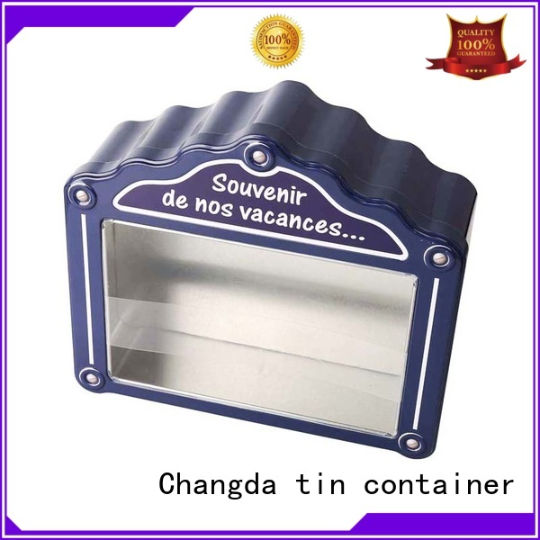 Changda oem&odm gift tin boxes for wholesale