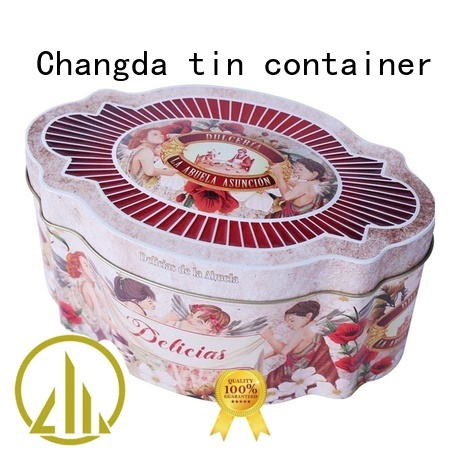 wholesale cookie tins factory price fast delivery Changda