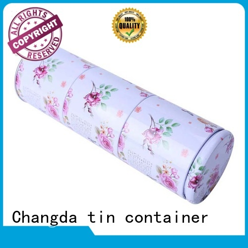 tea tin can durable for gift packing Changda