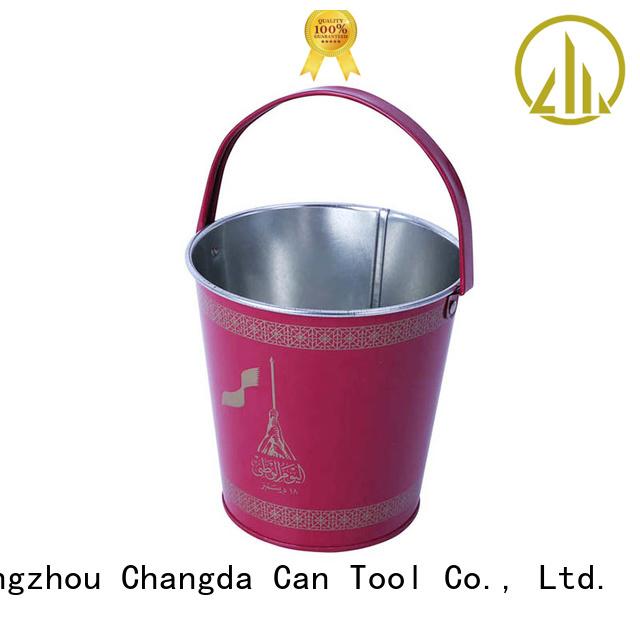 Changda tin bucket light weight