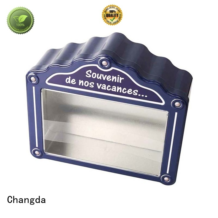gift tin boxes factory supply for bar Changda