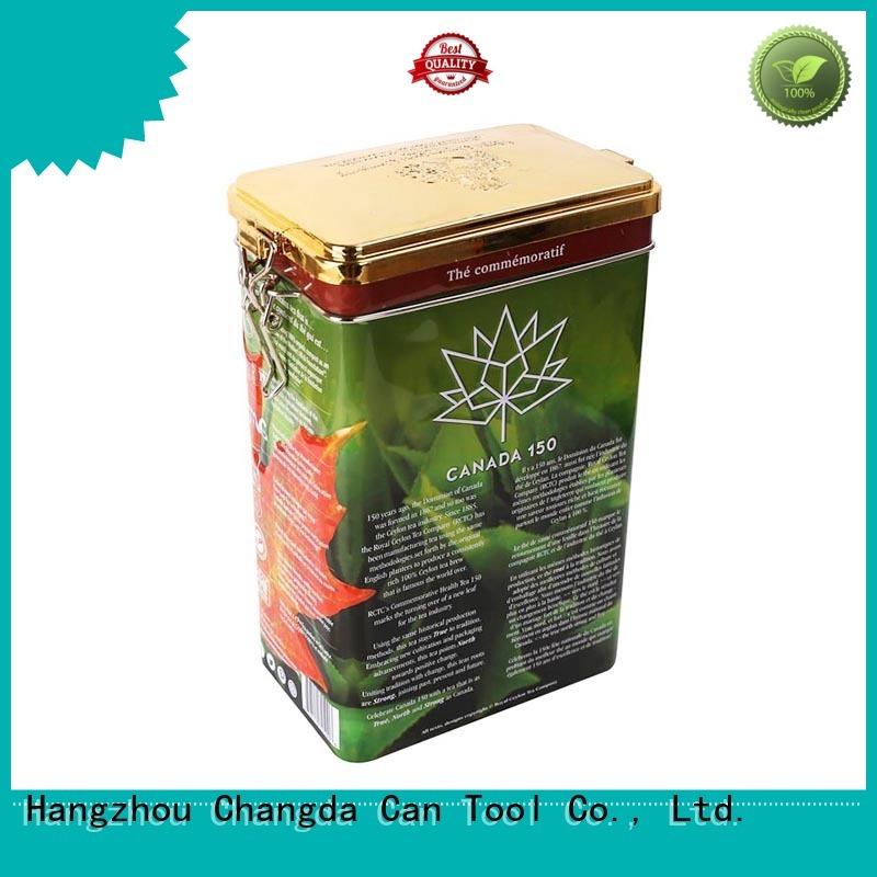 bulk supply tea storage tins stainlessfor gift packing