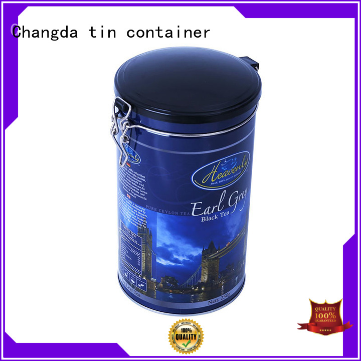 Changda hot-sale coffee container free sample