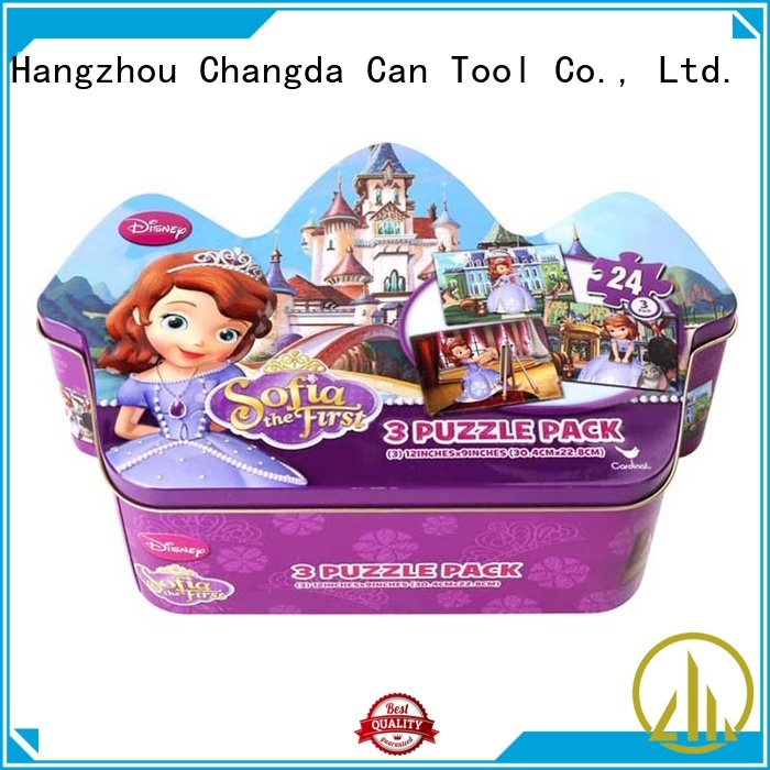 Changda factory supply hard puzzle box for packing