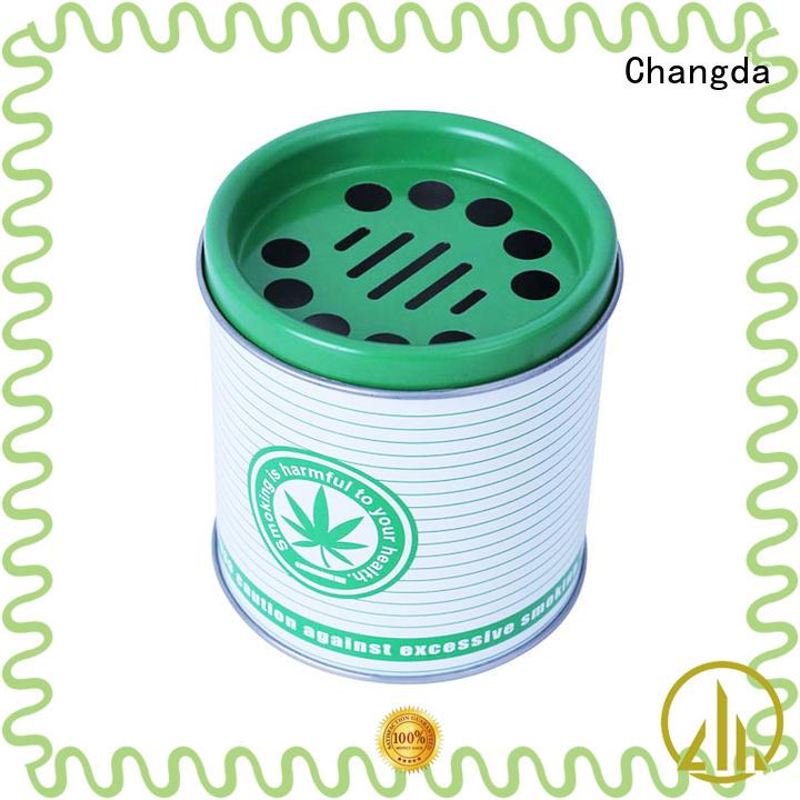Changda food grade custom ashtrays best factory supply