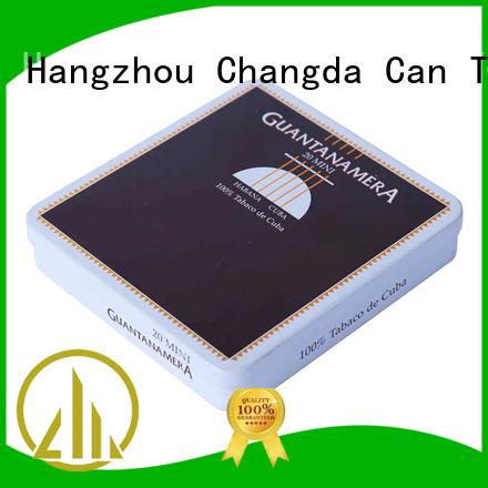 Changda cigarette tin professional manufacturer for customization