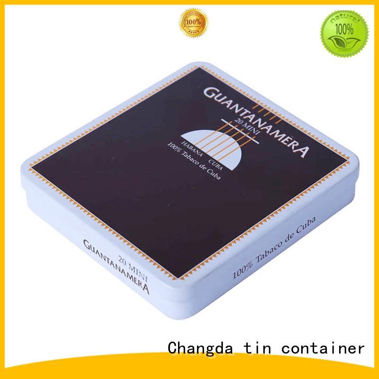 Changda latest cigarette tin