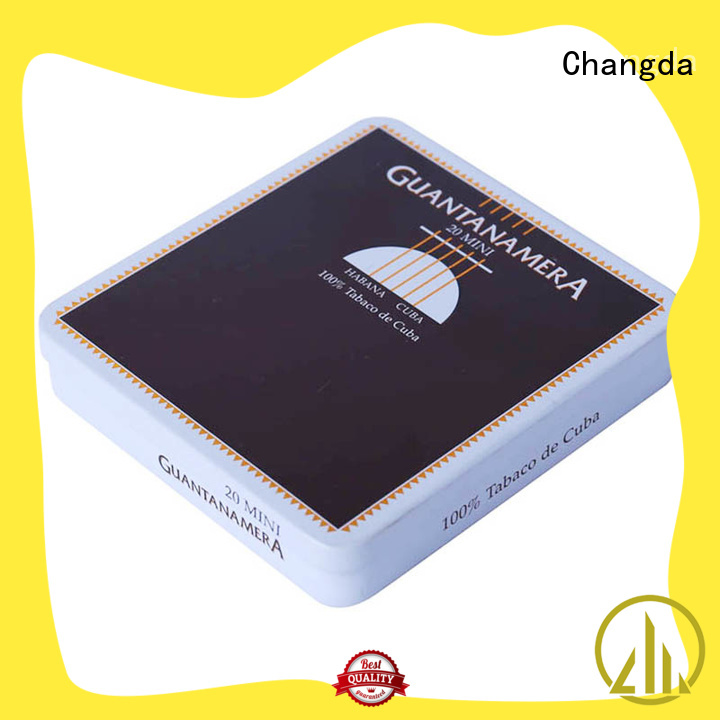 Changda latest cigarette box best quality