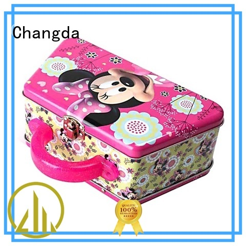 Changda tin lunch boxes gift from top supplier