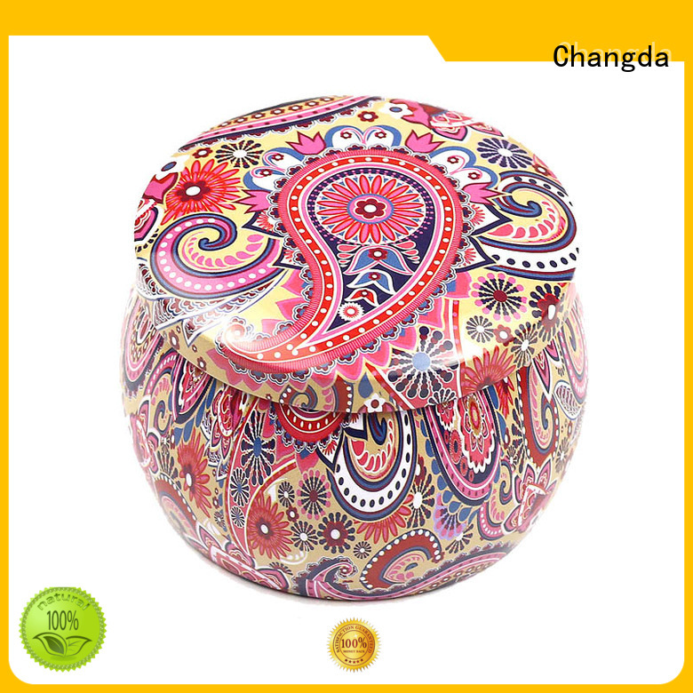 Changda best selling candy canister factory supply