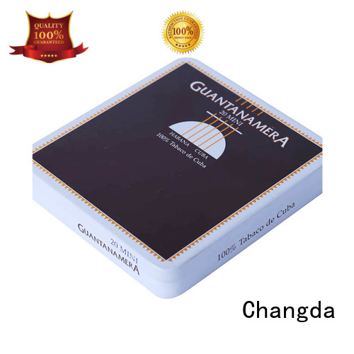 Changda cigarette tin professional manufacturer best quality