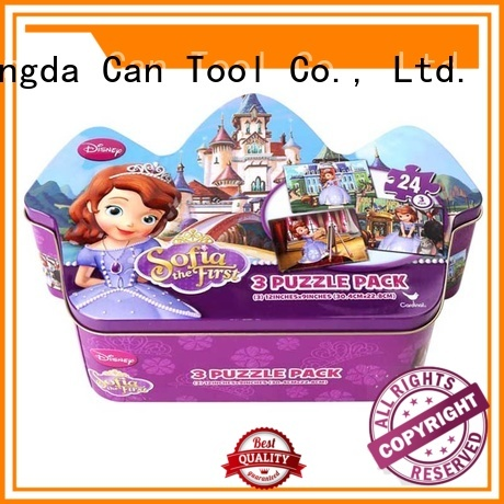 Changda bulk supply puzzle tin universal