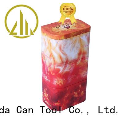 Changda popular metal tins wholesale beautiful design for gift