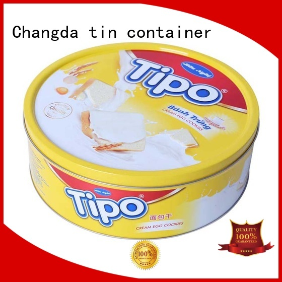 Changda food storage can from top supplier
