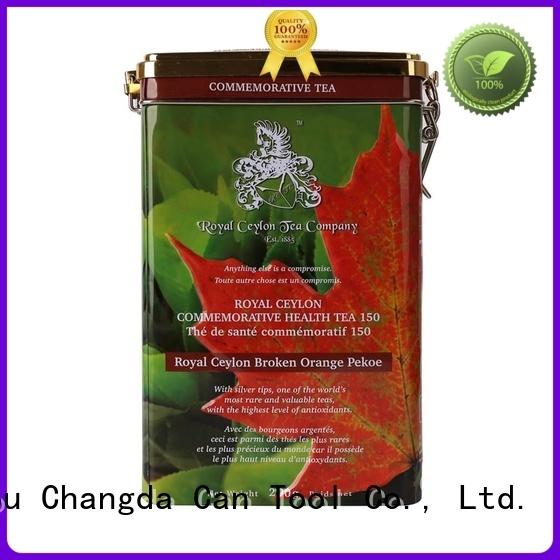 Changda tin box durable for gift packing