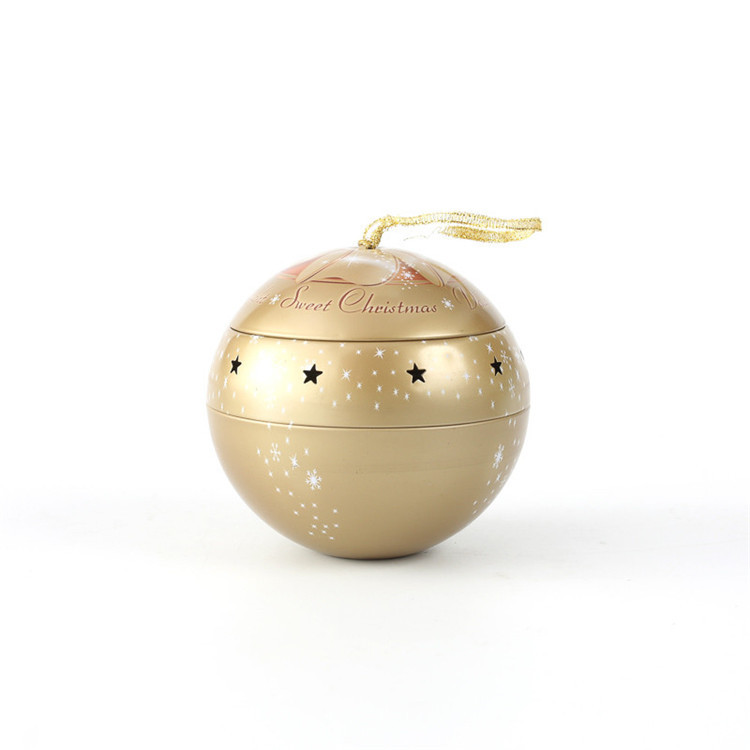 Special christmas design tin ball