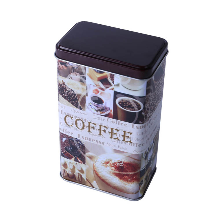 Metal Gift Coffee Packaging Tea Tins Box