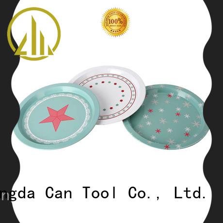 food grade metal tray factory supply for restuarant