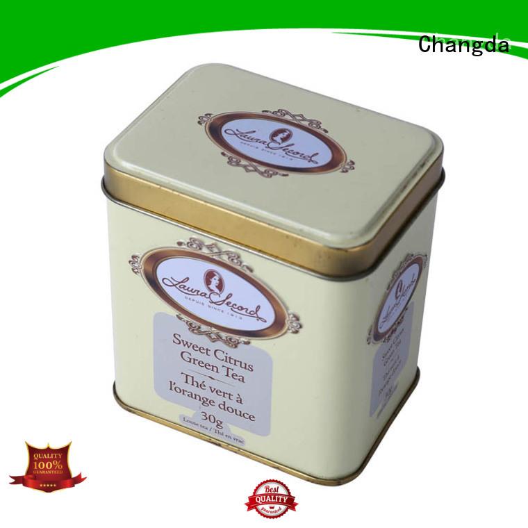 Changda tea tins wholesale hot-sale food grade