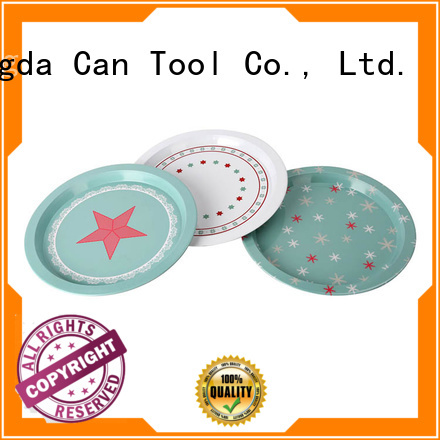 Changda vintage metal trays wholesale for restuarant