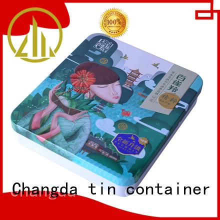 Changda tin box best factory price oem&odm