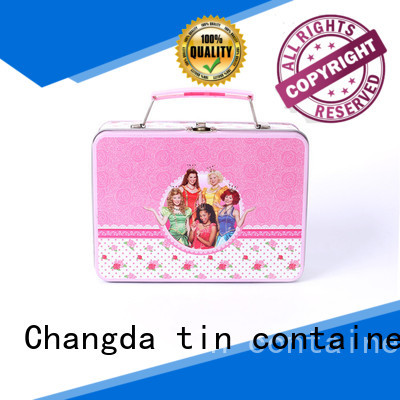 Changda tin lunch boxes free sample